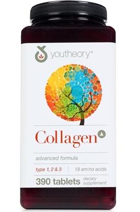 Hình ảnh củaViên uống Collagen Youtheory Type 1 2 & 3 Của Mỹ, 390 viên