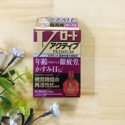 Hình ảnh củaThuốc nhỏ mắt Rohto V-Premium 15ml (the độ 2)