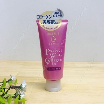 Hình ảnh củaSữa Rửa Mặt Tạo Bọt Collagen Senka Perfect Whip Collagen120g